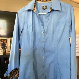 Express button up blouse - Portofino Style